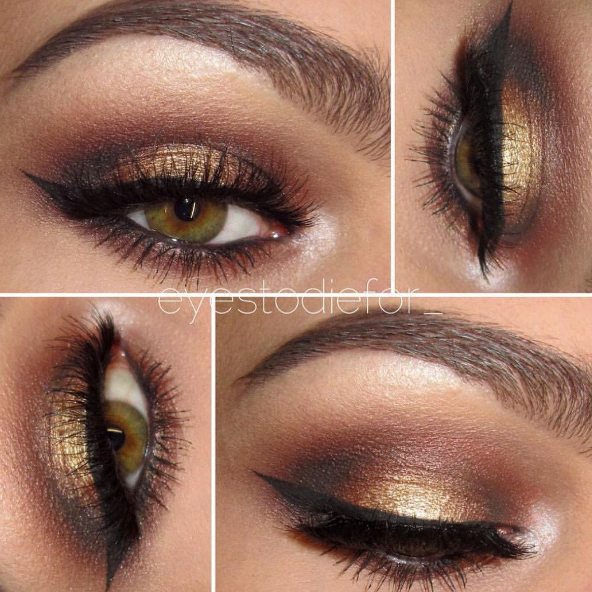 seduction- get this look! all natural, vegan eyeshadow and eyeliner