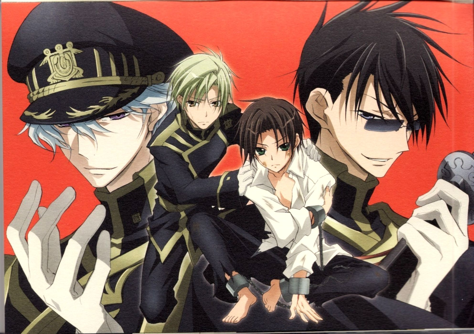 Tags: 07-ghost, Teito Klein, Mikage (07-ghost), Hyuuga (07-ghost), Ayanami (07-ghost)