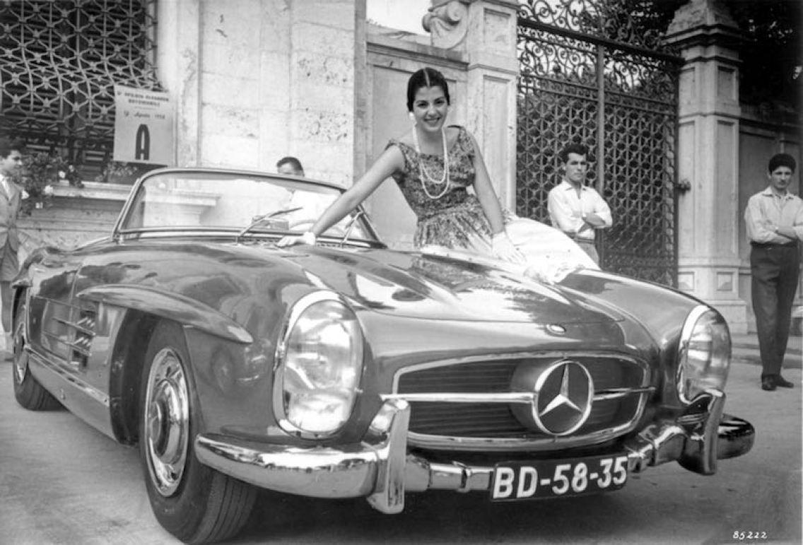 mercedes benz 300 sl roadster w 198 ii 1957 to 1963