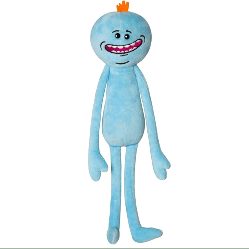 Happy Mr Meeseeks Rick And Morty Merchandise Rick And Morty Meeseeks Rick And Morty Season Teddy Bear Stuffed Animal