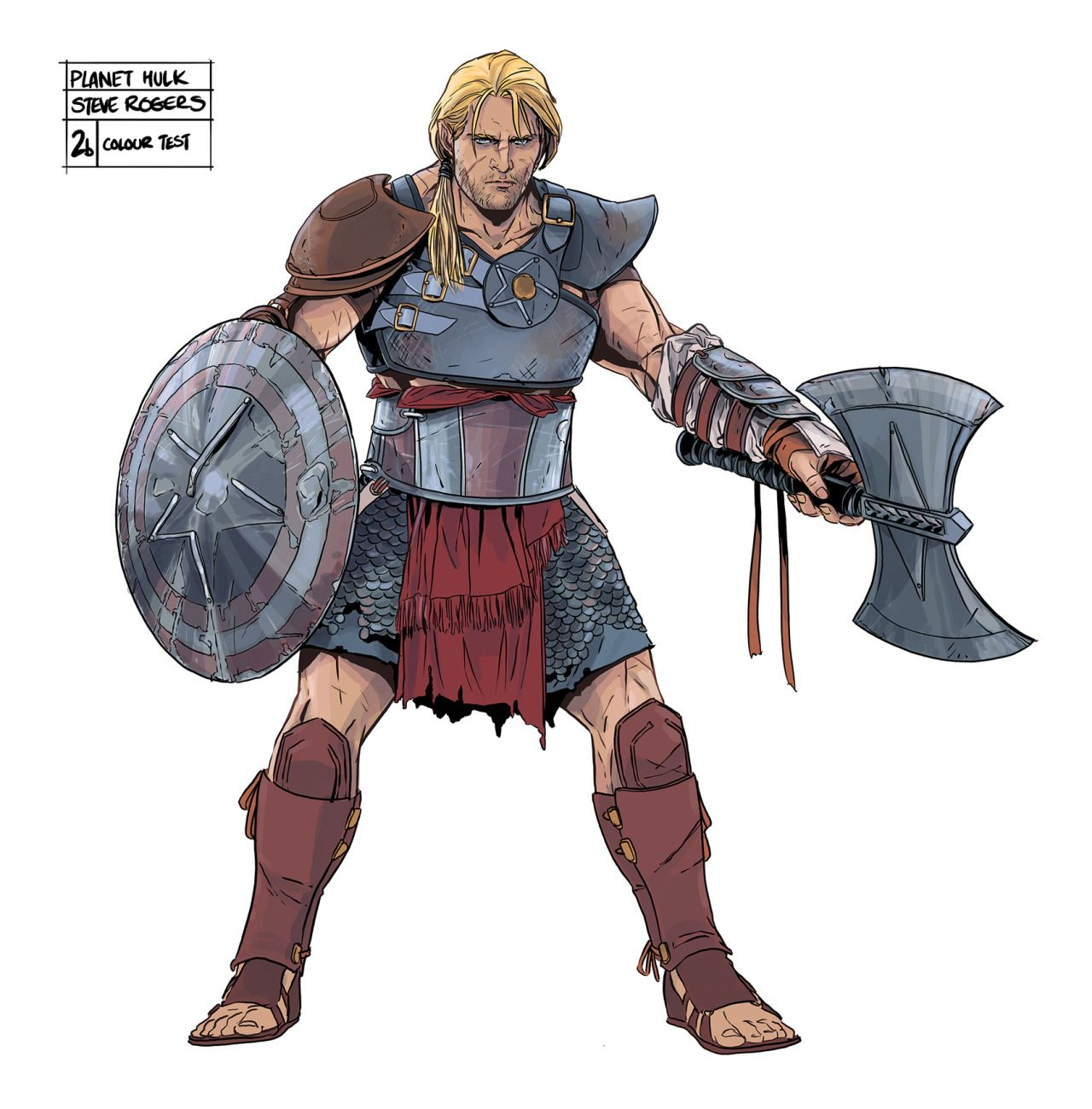 gladiator steve rogers character sheet for planet hulk