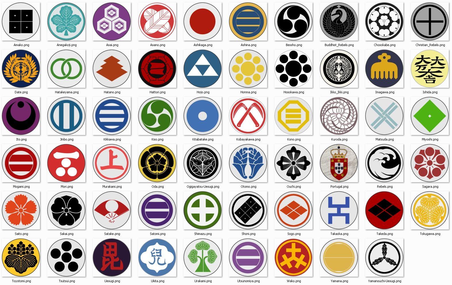 Best Faction Symbol Japanese History Faction Symbols Clan Symbols