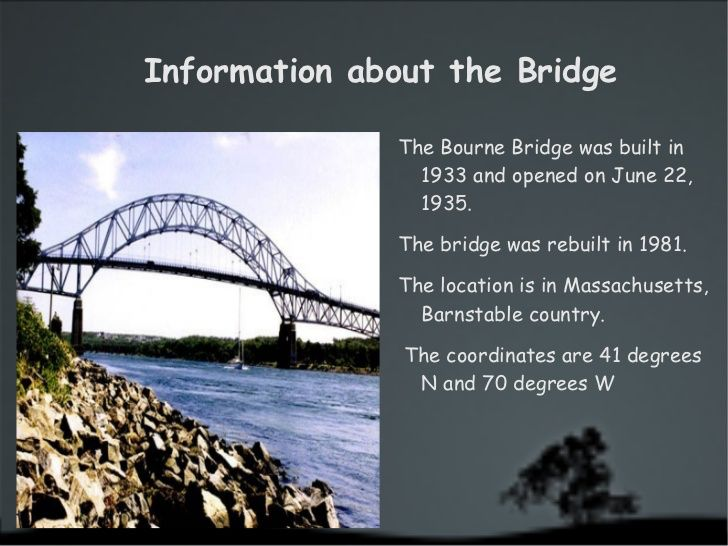 Image From Http Image Slidesharecdn Com Ttab 110520163221 Phpapp01 95 The Bourne Bridge 2 728 Jpg Cb 1305909234 Bourne Bridge Bridge Sydney Harbour Bridge