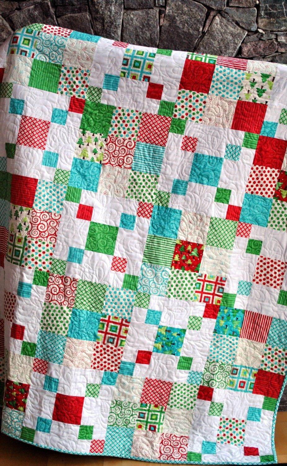 Rocky Road Quilt Pattern Quick And Easy Layer Cake