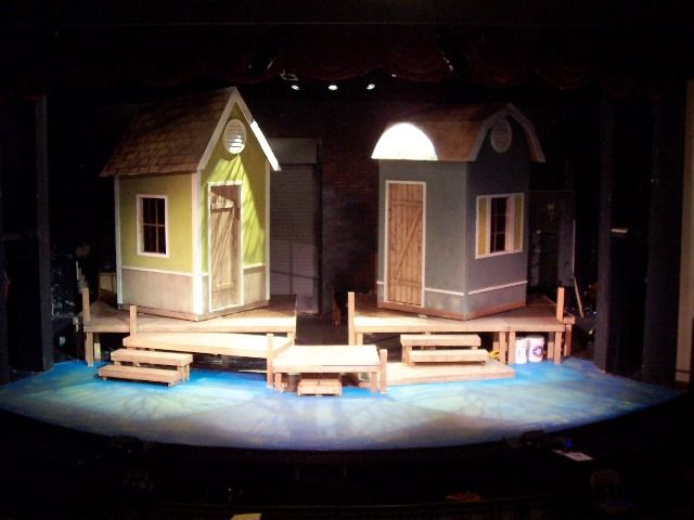 A Year With Frog And Toad Set Design Theatre Stage Set Design