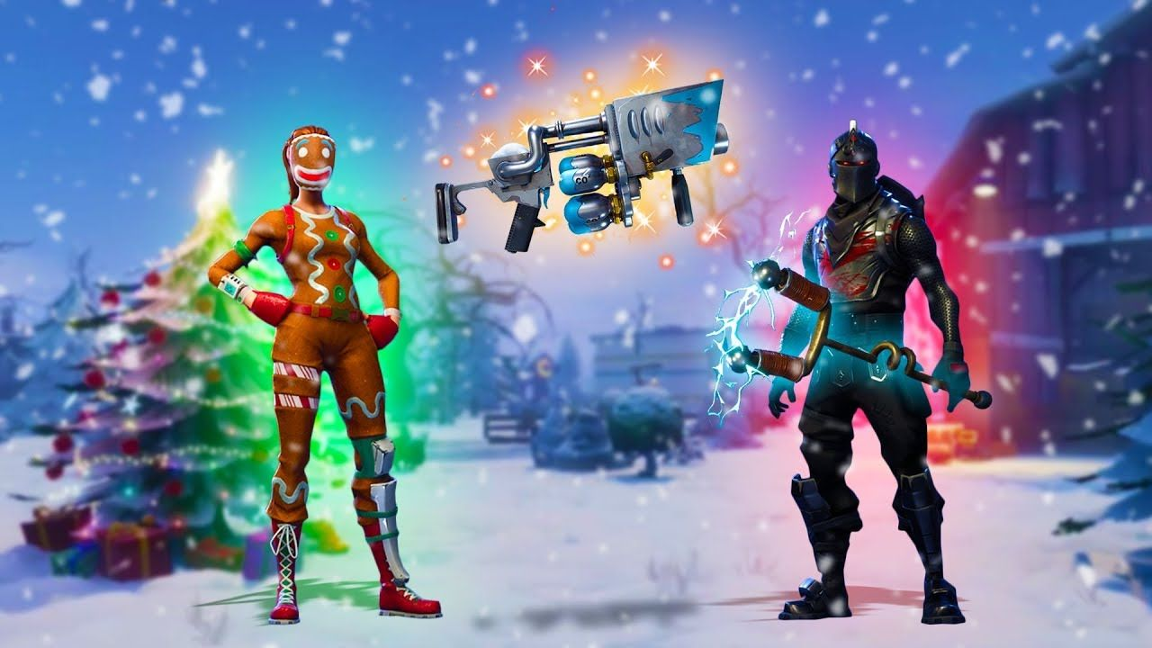 All Christmas Skins Fortnite Wallpaper