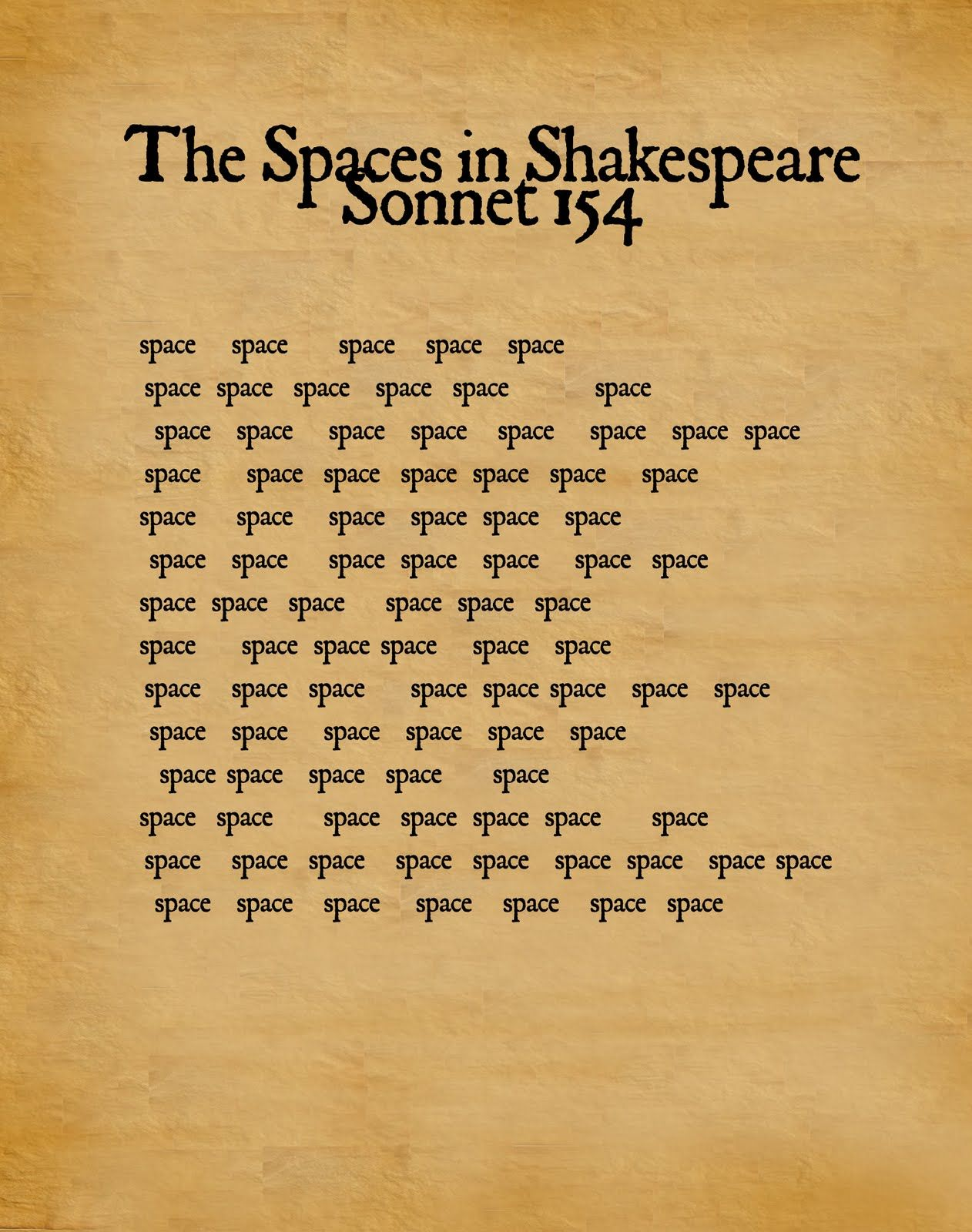 I Found Thi Image Which Feel Exemplifie The Rhythm Of Sonnet In A Unique And Interesting Way Unfortunately Shakespeare Meaning 61