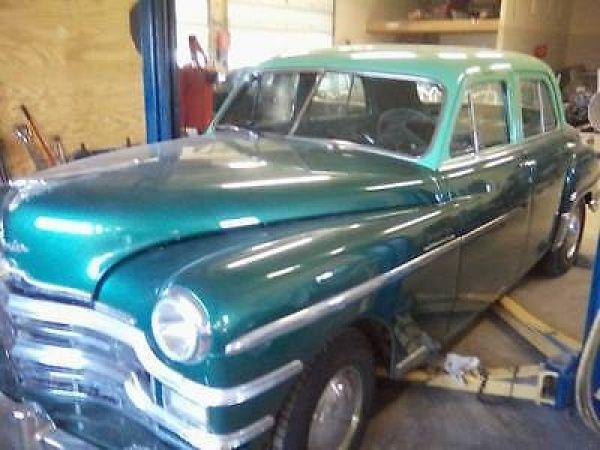 Chrysler: windsor 4 door ◘ 1949