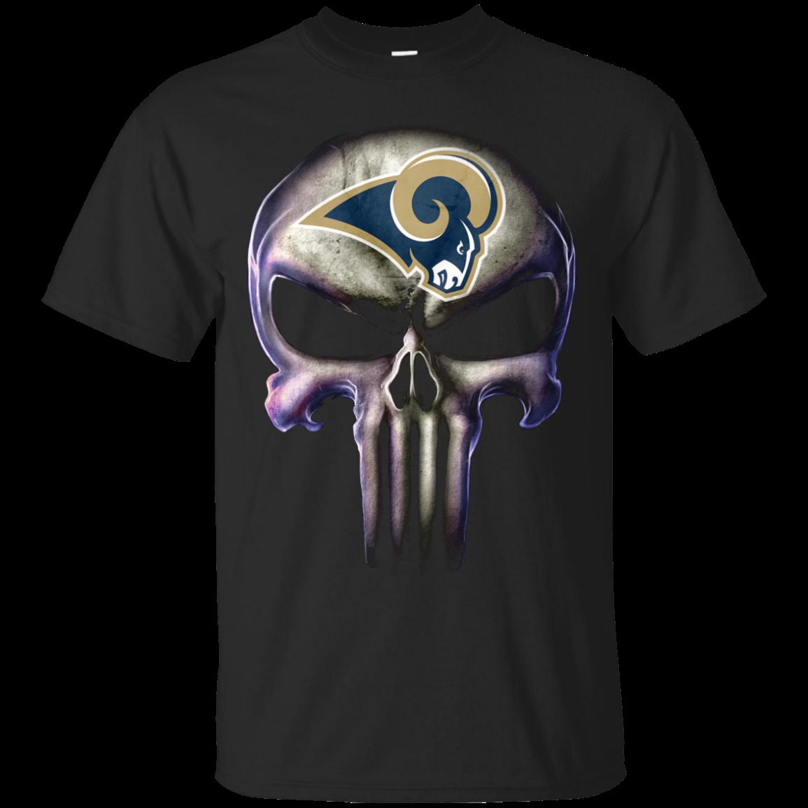 5dac706ad The Punisher T shirts Los Angeles Rams Hoodies Sweatshirts