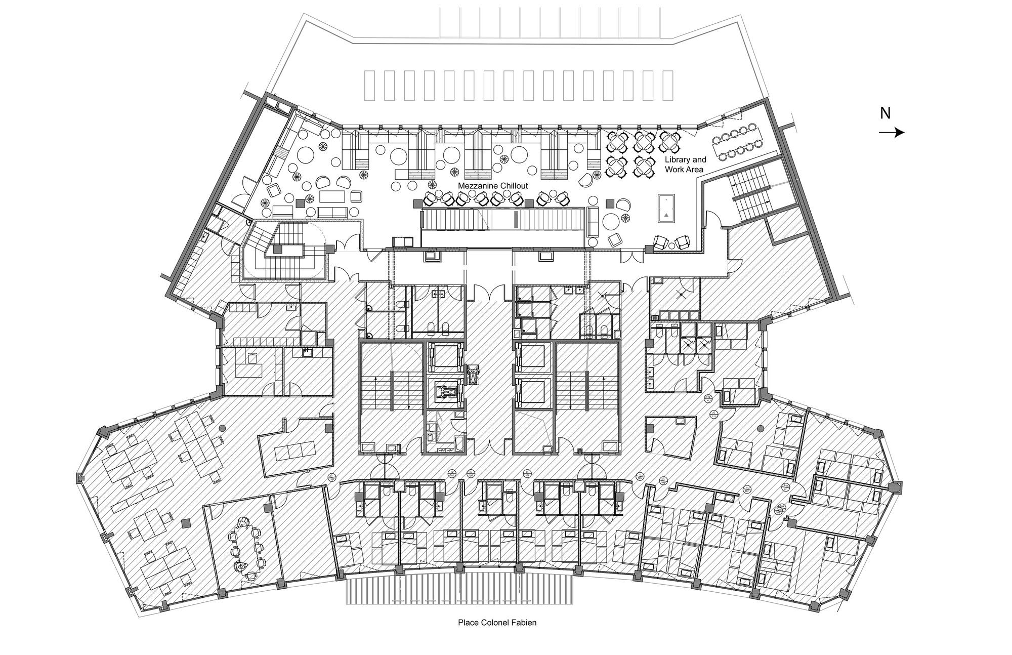 Gallery Of Generator Paris Designagency 23 Hotel Floor Plan Floor Plan Generator Floor Plans