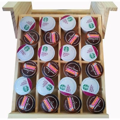 Axis International Natural Wood Under the Cabinet Spice Organizer