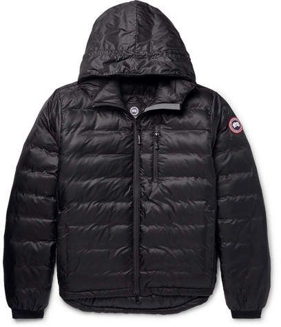 Jacket Shell Ripstop Hooded Down Lodge Canada Goose Packable w0q7U