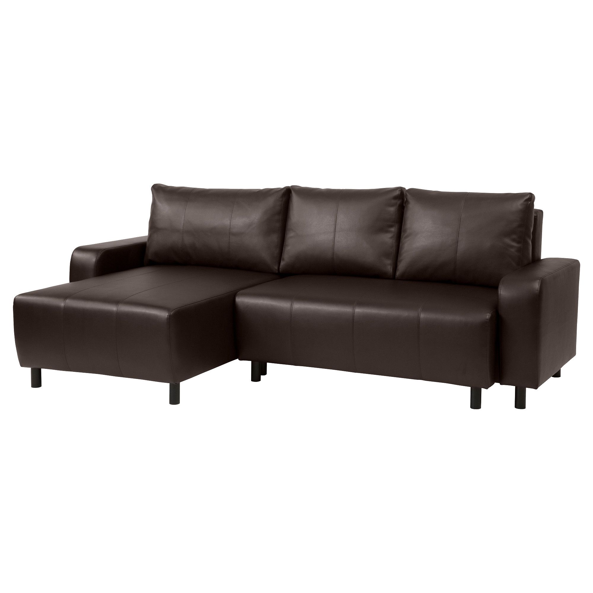DJURSBO Sleeper sectional 3 seat Kimstad brown