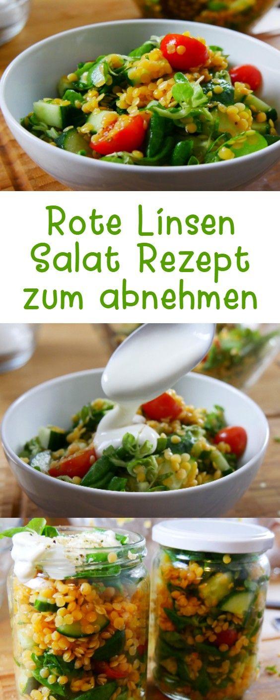 Photo of Rote Linsen Salat Rezept zum Abnehmen