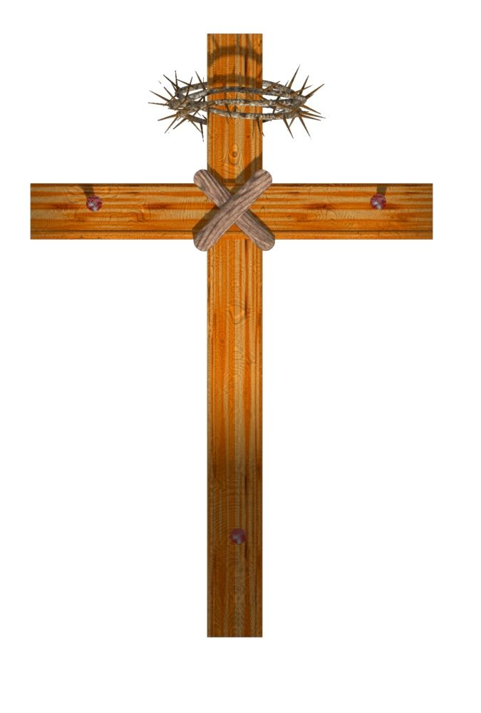 free cross clip art wood cross with thorns 16 trendy bible rh pinterest com free cross clipart png free cross clipart without background