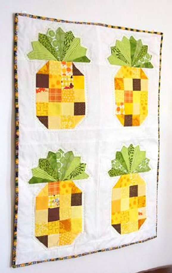 Pineapple Quilt By Beth Novak  FREE Pattern