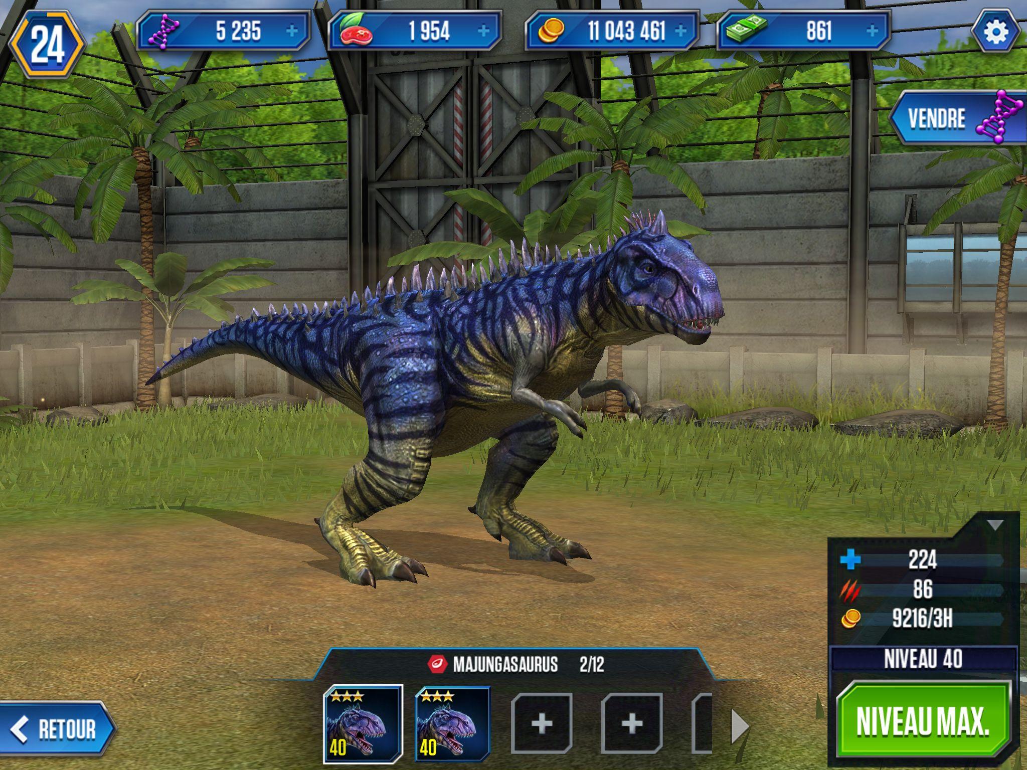 Majungasaurus jurassic world game dinosaure adrians - Dinosaure jurassic world ...