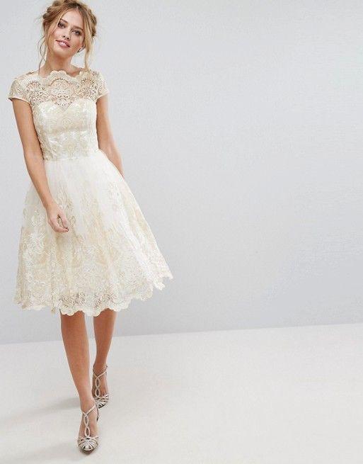 10 Short & Sweet Wedding Dresses | Pinterest | Standesamt ...