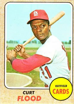 180 - Curt Flood - St. Louis Cardinals
