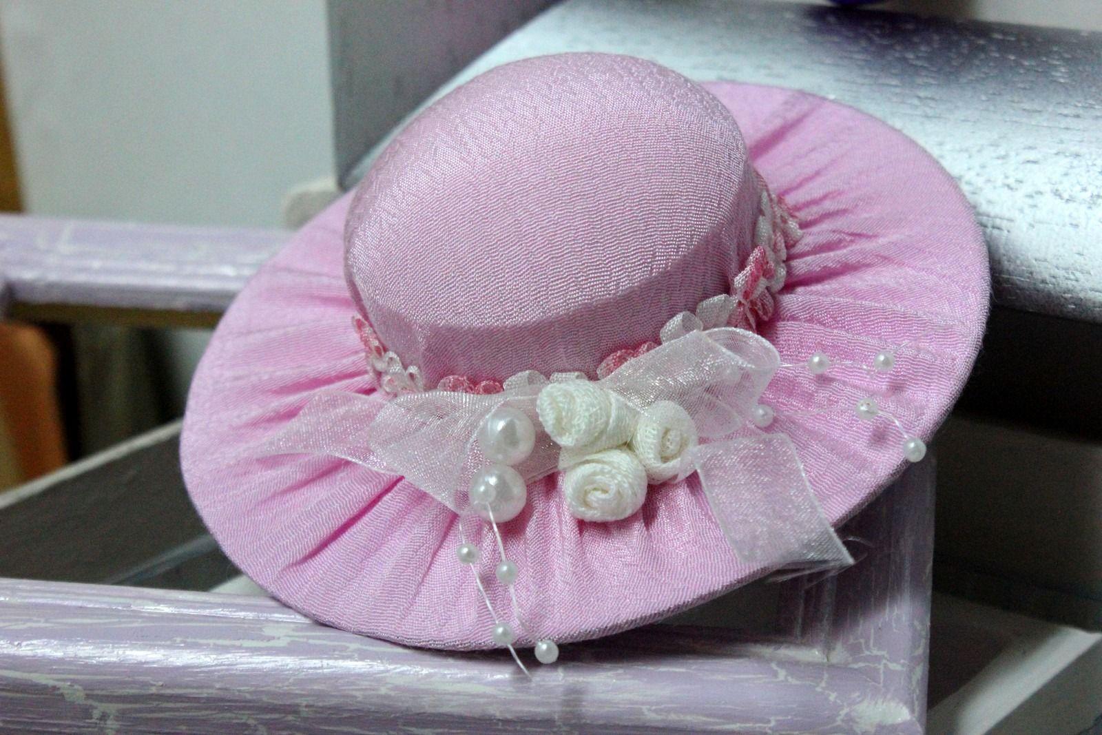 sachet de lavande en forme de chapeau fait main accessoires de maison par passionnette. Black Bedroom Furniture Sets. Home Design Ideas