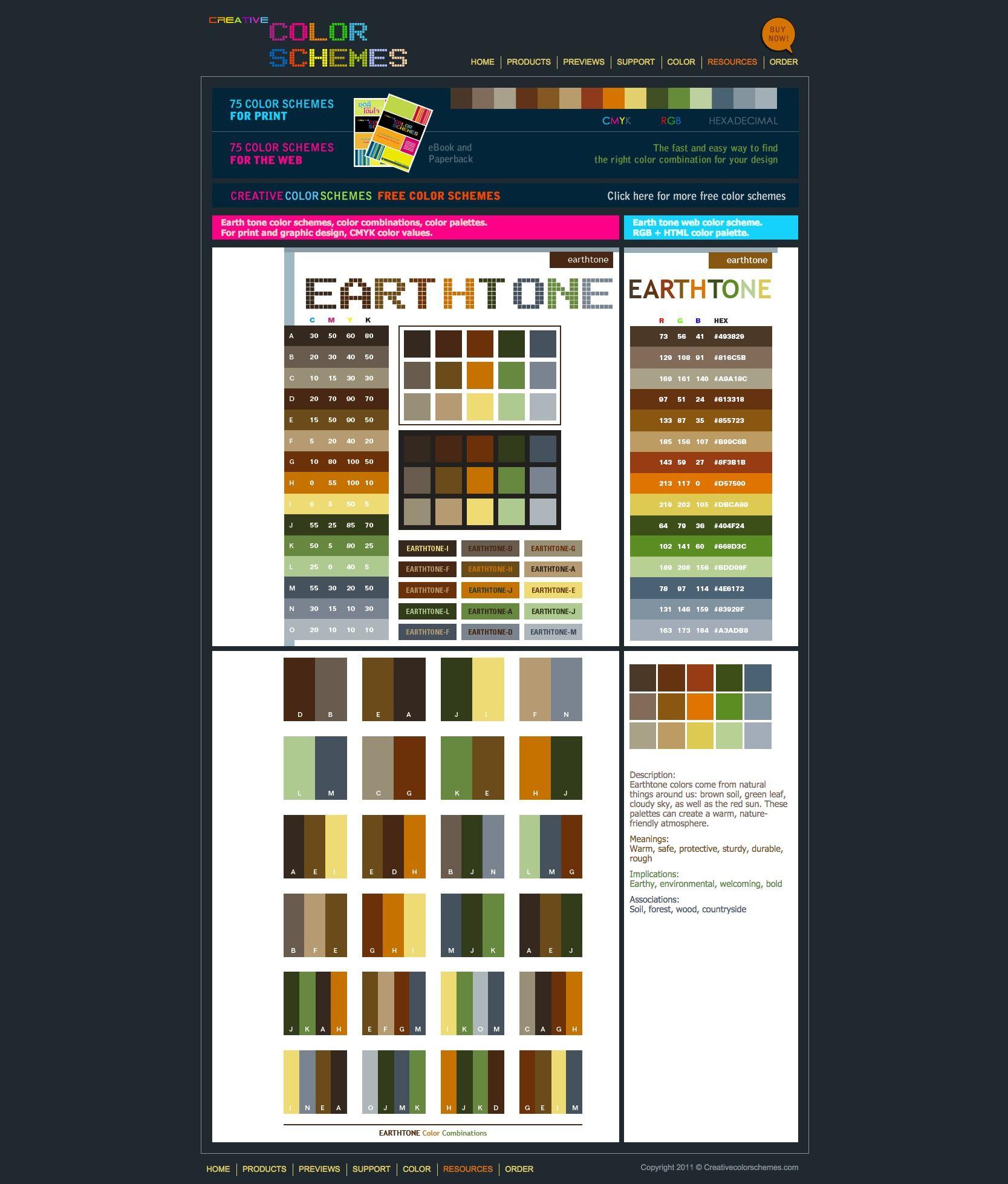 Creative Color Schemes http://www.creativecolorschemes/resources/free-color-schemes