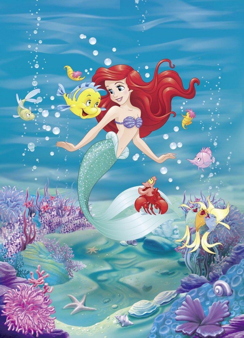Little Mermaid Fairly Tale on the wall