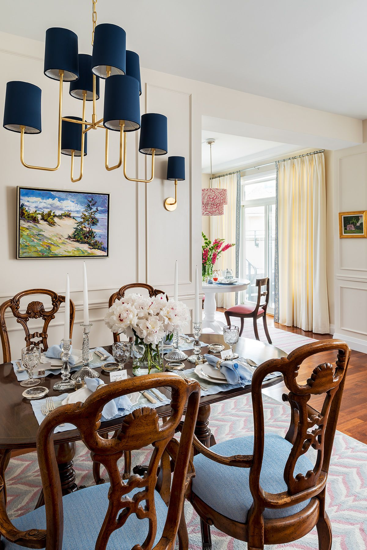 Residential Interior Project Has Modern Yet Vintage Take: Traditional Dining Room Cynthia Ferguson Designs