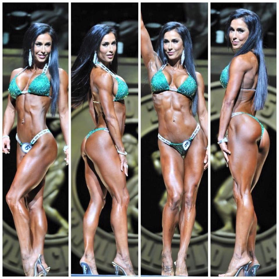 Ifbb pro stephanie mahoe 5th place 2015 arnold classic bikini international