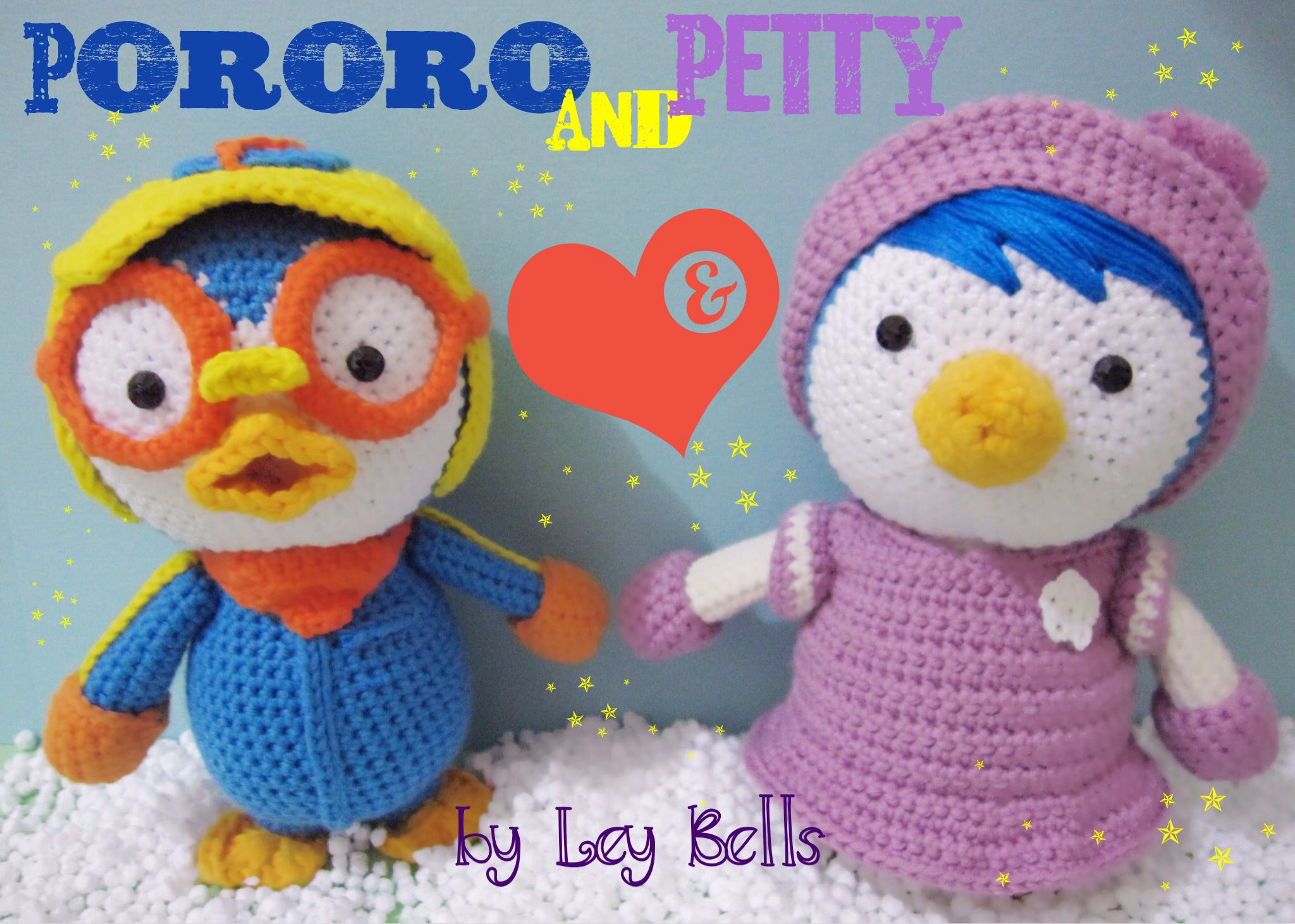 Amigurumi Doraemon Pattern : Amigurumi pororo and petty by leybells facebook leybells