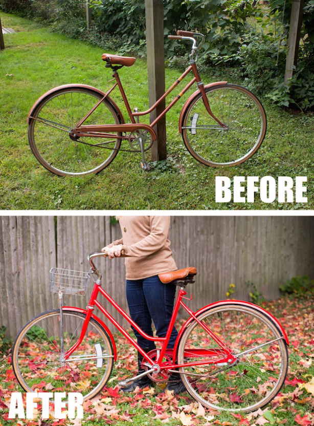 How To Paint A Bicycle Biking Diy Bicycle Diy Bicycle Painting