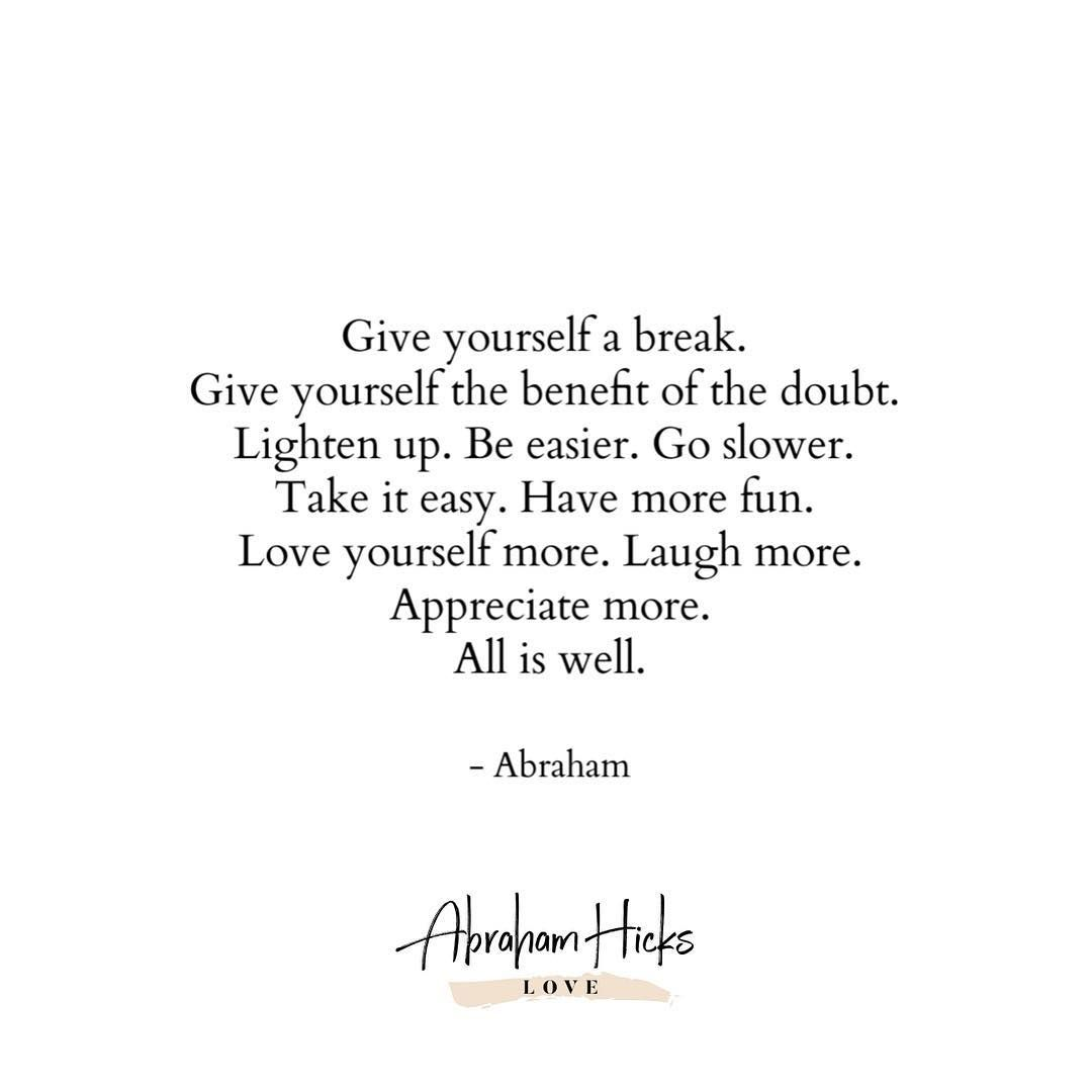 Abraham Hicks Love On Instagram Inspirational Quotes