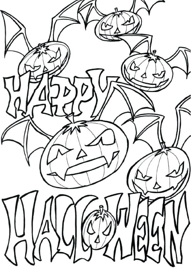 Halloween coloring pages pdf #coloringpages # ...