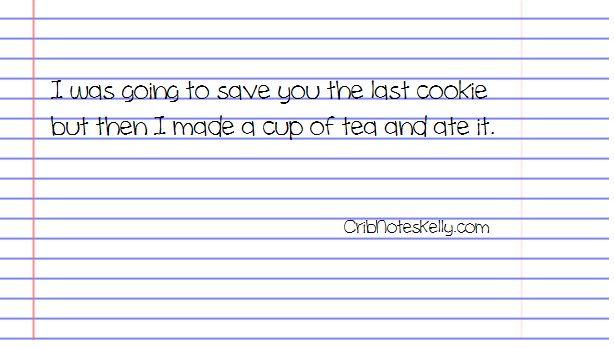 last cookie...