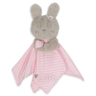 Gerber Bunny Organic Cotton Security Blanket In Pink #securityblankets