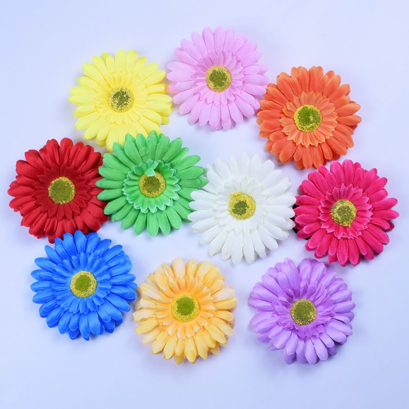 Click To Buy Bohemia Gerbera Hair Clips Sun Flower Hairpins For Women Beach Flowers Hairwear Hair Acc Hair Band Accessories Flower Hair Pin Beach Flowers