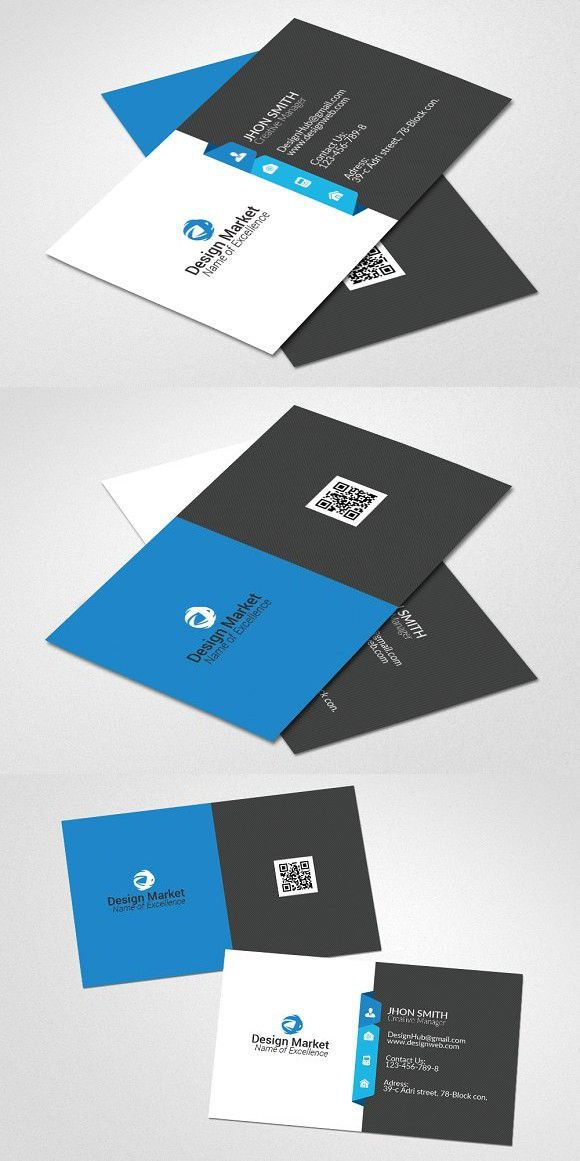 Creative Business Card Template Medical Infographic $600 - medical business card templates