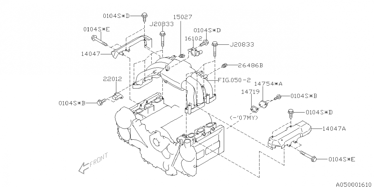 2014 Honda Accord Belt Routing