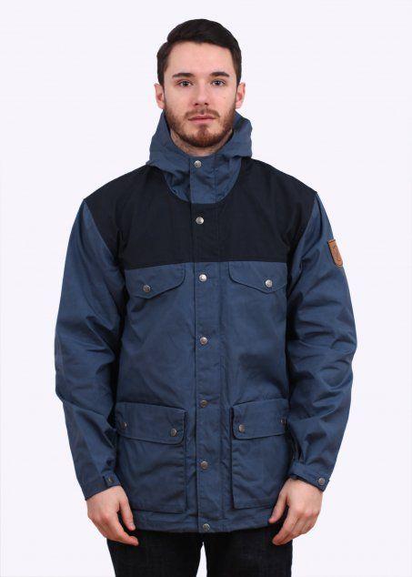san francisco 2f508 bf7ac Fjallraven Greenland Jacket - Uncle Blue