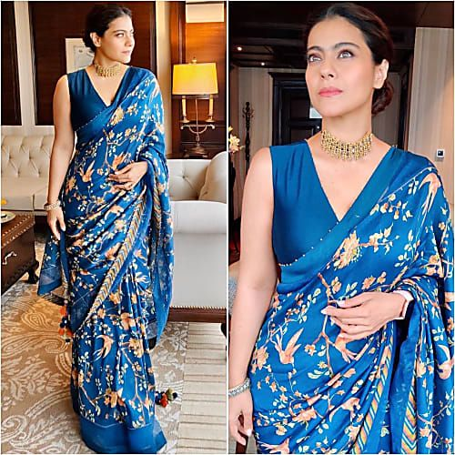 Kajol's Graceful Avatar Is An Ode To Traditional Sarees!