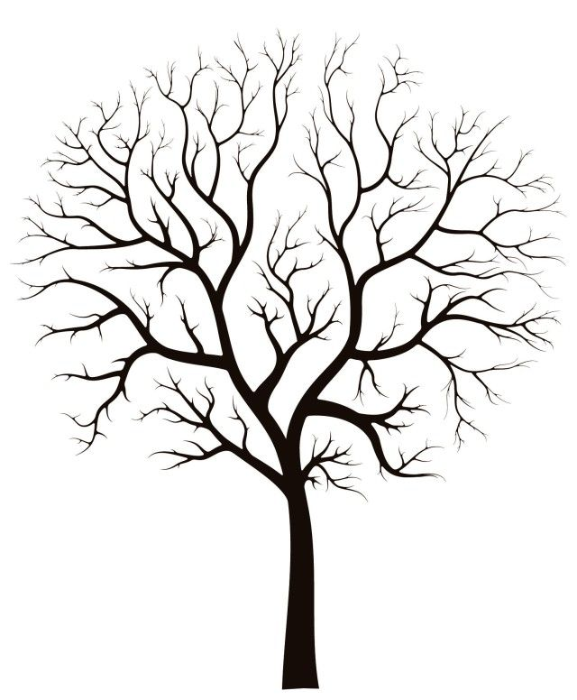 Wedding Tree Vector: Free Vector Illustration Material Together To Help