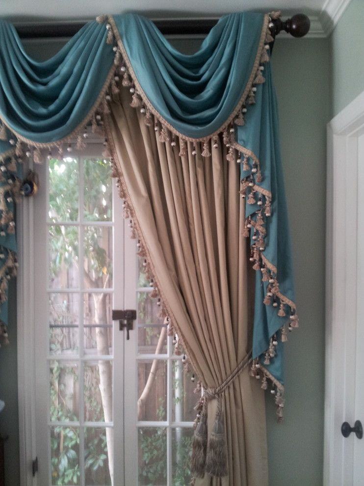 P Window Fashions Traditional Curtains Los Angeles P