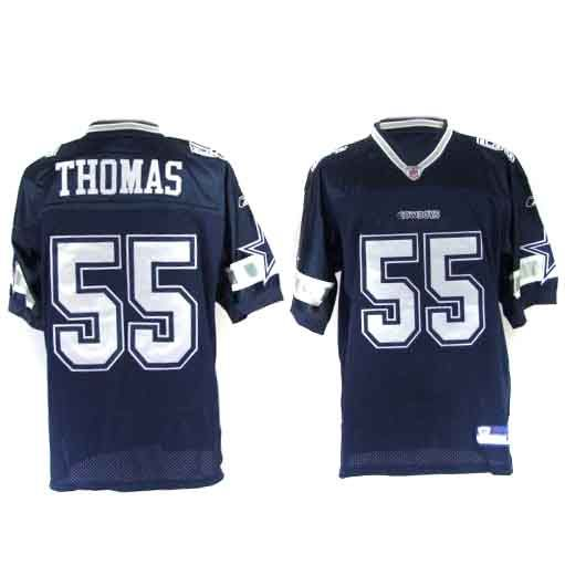 newest 8781b 738af Zach Thomas Jersey, #55 Dallas Cowboys Authentic NFL Jersey ...