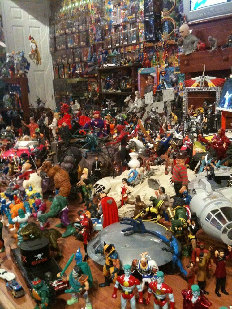 The Toy and Action Figure Museum / Paul's Valley, OK ...