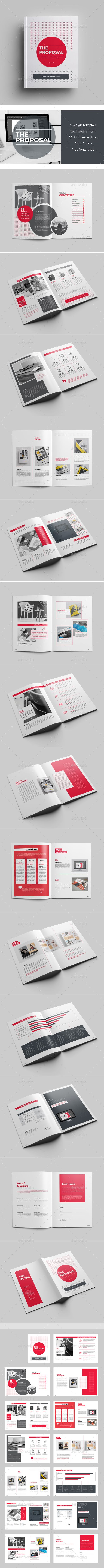 Proposal proposal templates adobe indesign and proposals clean professional proposal template for adobe indesign it comes in international a4 us letter saigontimesfo