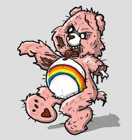 Care Bear Zombie My Walking Dead Stuff Zombi
