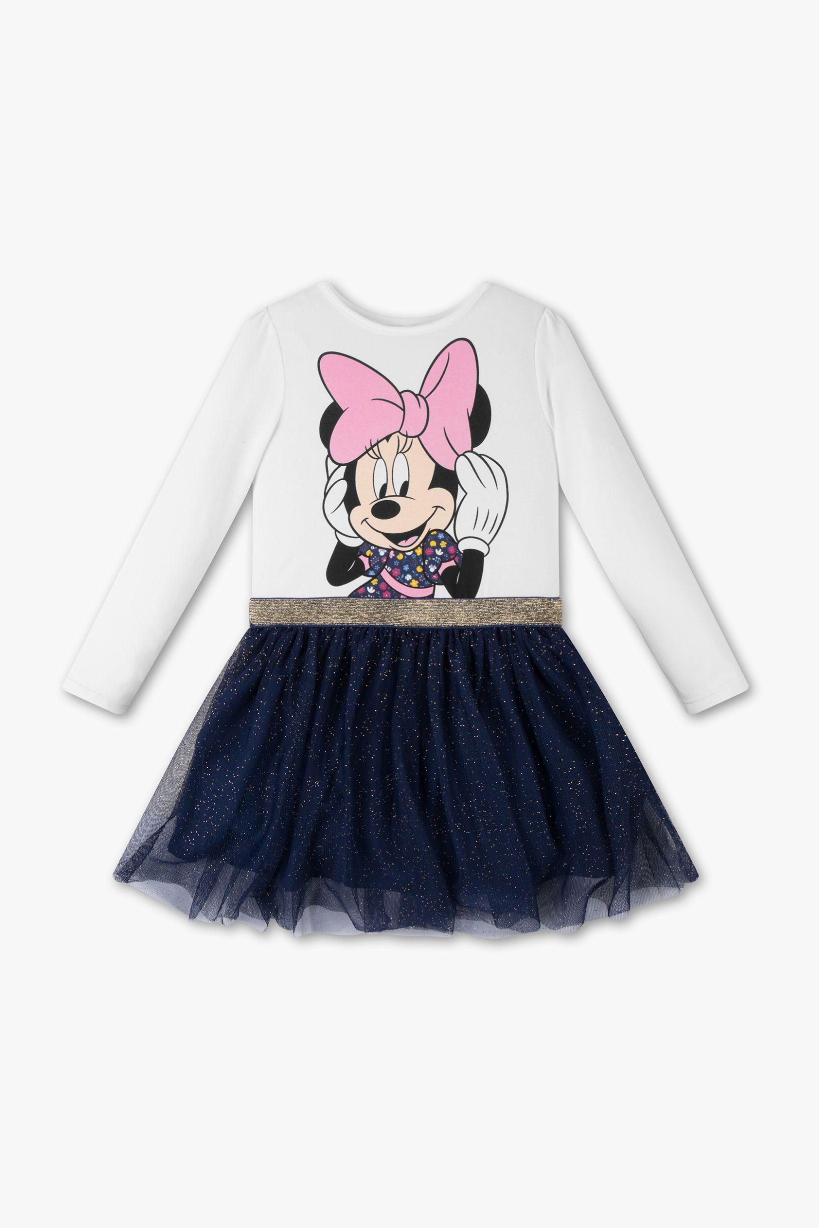 Minnie Maus Kleid Glanz Effekt Modestil Minnie Maus Kleider
