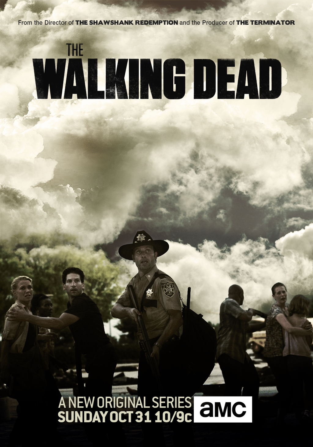 The Walking Dead Season 4 Poster By Jevangood On Deviantart The Walking Dead Poster The Walking Dead Walking Dead Season