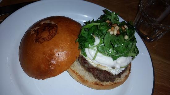 PARIS 9 - 16 rue Henry Monnier - L'Atelier Saint Georges, Prendre le burger Monsieur Paul