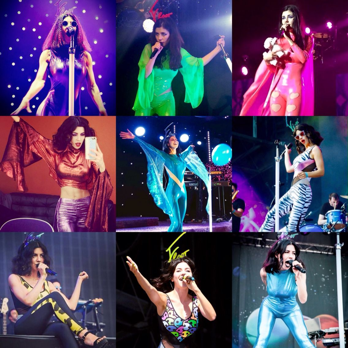 Goodbye to the Froot Era. Beautiful, bright and colourful just like Marina herself. Until the next era