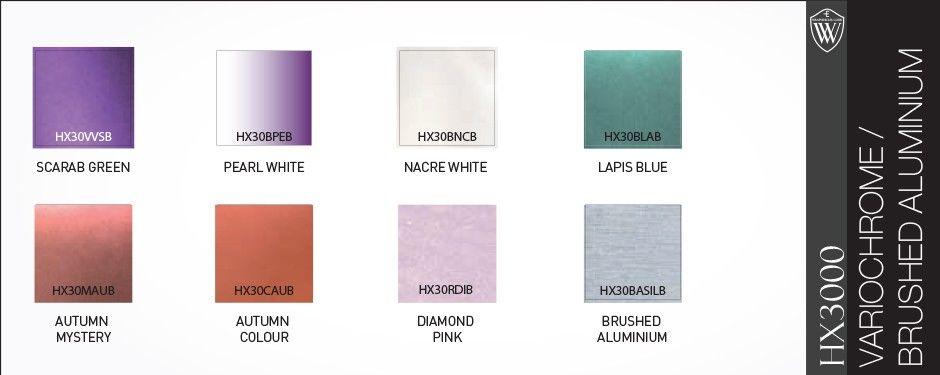 Hexis vehicle wrap colours manchester chrome vinylwraps